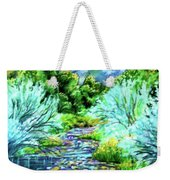 South Platte River  Weekender Tote Bag