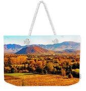 South Reno In Fall Weekender Tote Bag