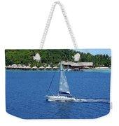 South Sea Sail Weekender Tote Bag