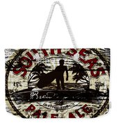 South Seas Pale Ale Sign Weekender Tote Bag
