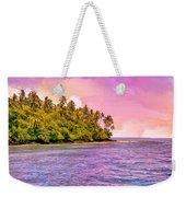South Seas Sunset Weekender Tote Bag