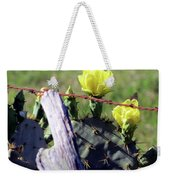 South Texas Fence Weekender Tote Bag