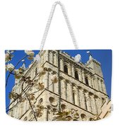 South Tower Exeter Cathedral Weekender Tote Bag