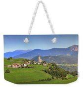 South Tyrolean Panorama Above Bolzano. Weekender Tote Bag