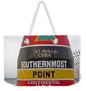 Southermost Point Of U. S. A. Buoy Marker Weekender Tote Bag