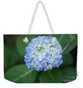 Southern Blue Hydrangea Blooming Weekender Tote Bag