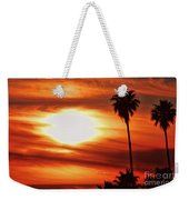 Southern California Sunset Weekender Tote Bag