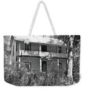 Southern Charm Black And White Weekender Tote Bag