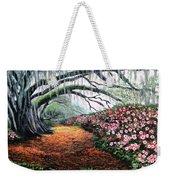 Southern Charm Oak And Azalea Weekender Tote Bag