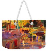 Southern French Port Weekender Tote Bag