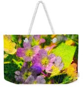 Southern Missouri Wildflowers 1 - Digital Paint 2 Weekender Tote Bag