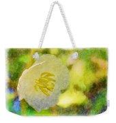 Southern Missouri Wildflowers - Mayapples Bloom - Digital Paint 2 Weekender Tote Bag