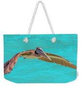 Southern Most Pelican Weekender Tote Bag