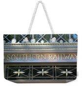 Southern Railway Building Weekender Tote Bag