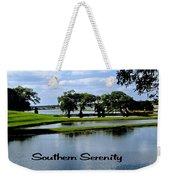 Southern Serenity Weekender Tote Bag