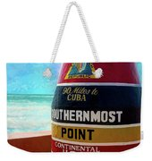 Southernmost Point Weekender Tote Bag