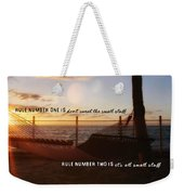 Southernmost Quote Weekender Tote Bag