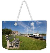 Southport Harbor Connecticut Weekender Tote Bag