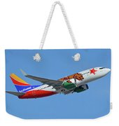 Southwest Boeing 737-7h4 N943wn California One Phoenix Sky Harbor October 16 2017 Weekender Tote Bag