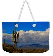 Southwest Saguaro Desert Landscape Weekender Tote Bag