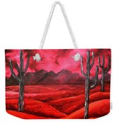 Southwestern Abstract Oil Painting Weekender Tote Bag
