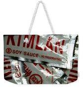 Soy Sauce Weekender Tote Bag