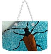 Space Age Beetle Weekender Tote Bag