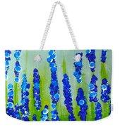 Blue Garden Weekender Tote Bag