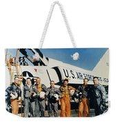 Space: Astronauts, C1961 Weekender Tote Bag