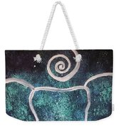 Space Elephant Spiral 2 Weekender Tote Bag