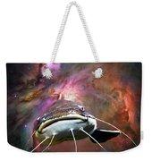 Space Fish Weekender Tote Bag