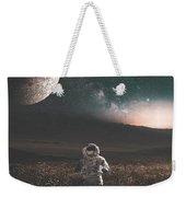 Space Man Weekender Tote Bag