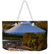 Space Mountain And Monorail Peach Weekender Tote Bag