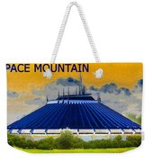 Space Mountain Weekender Tote Bag