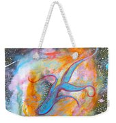 Space Ocean Weekender Tote Bag
