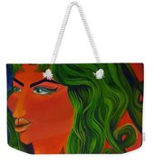 Space Queen Weekender Tote Bag