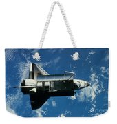 Space Shuttle Challenger Weekender Tote Bag