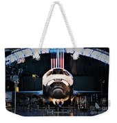 Space Shuttle Discovery Weekender Tote Bag