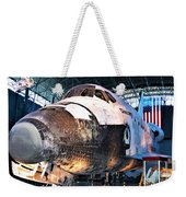 Space Shuttle Discovery View No. 2 Weekender Tote Bag