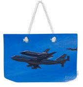 Space Shuttle Endevour Weekender Tote Bag