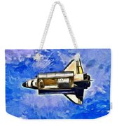 Space Shuttle In Space - Pa Weekender Tote Bag