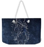 Space Suit Patent Illustration Weekender Tote Bag