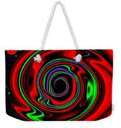 Space Twister Weekender Tote Bag
