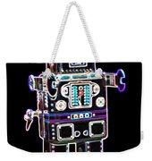 Spaceman Robot Weekender Tote Bag