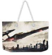 Spaceship Weekender Tote Bag