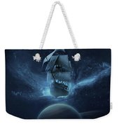 Spaceship Weekender Tote Bag