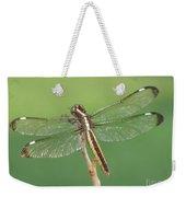 Spangled Skimmer Dragonfly Female Weekender Tote Bag