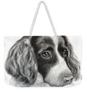 Spaniel Drawing Weekender Tote Bag