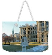 Spanish American War Memorial At Lucas County Courthouse 0098 Weekender Tote Bag
