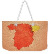 Spanish And Catalonia Tattoo With Stitches Weekender Tote Bag